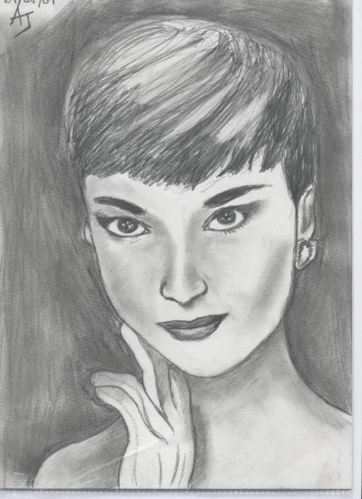 Audrey Hepburn by LiiSs